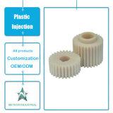 Kundenspezifische Plastikeinspritzung-Produkt-Bauteil-Autoteil-Maschine zerteilt Plastikgang