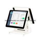 Soem-Produktion 15inch verdoppeln LCD-Bildschirm drahtloses Positions-System (PS1502A)