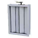 Klimaanlagen-Aluminiumlautstärkeregler-Dämpfer-Luft-Dämpfer