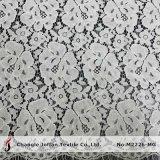 O tecido de algodão Offwhite Allover rendas para vestidos de Casamento (M2226-MG)