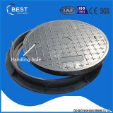 En124 B125 China Lieferanten-Gummiabwasserkanal-Einsteigeloch-Deckel