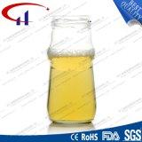 240ml新しいデザインガラス蜂蜜の瓶(CHJ8036)