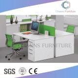 Poste de travail en bois de vente chaud de bureau de compartiment (CAS-W1771533)