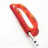 boyau acrylique rouge de Shisha de narguilé de 1.8m avec l'embouchure en verre (ES-HH-011-2)