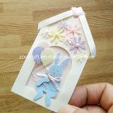Personalizada Etiqueta del papel decorativo / animales hechos a mano de forma de casa del arte DIY