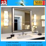 Hot Sale 1.3-6mm Espelho de banheiro com espelho grande com AS / NZS 2208