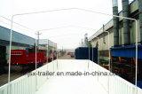 Rimorchio approvato del camion della parete laterale degli assi 33ton di iso ccc 3 con il blocco per grafici della tela di canapa