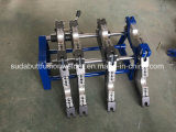 4つのリングの50-160mmのための手動バット融接機械