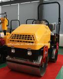 2 тонн Вибрационный дорожный каток с дороги Tandem Three-Cylinder дизельный двигатель (FYL-900)