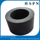 La ferrita de cerámica de permanente// Imán de ferrita de los anillos de sinterizado de Micro Motor