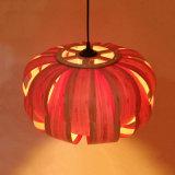 Natürliche Bambusgroßhandelshaut-künstlerische hängende Lampe
