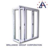 Portello Bi-Piegante di alluminio standard di As2047 Australia/portello Bi-Piegante di alluminio