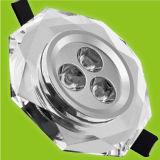 LEDの水晶ライト(光線034W12)
