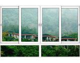Finestra di scivolamento curva vetro di alluminio di alta qualità con il disegno differente