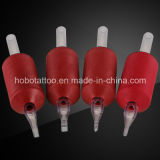 2015 новое высокое качество Silicone Rubber Disposable Tattoo Grips с Clear Tips