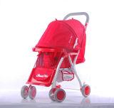 Poussette 2017 rouge pliable de poussette de bébé de vente d'usine avec des freins