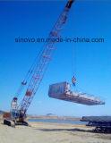 Équipement de levage hydraulique de levage CQUY550 Grue sur chenilles