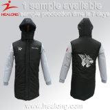 販売のためのHealongの方法デザインスポーツ・ウェアの平野のコートのジャケット