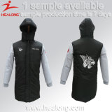 Healongの方法デザインスポーツ・ウェアの平野のコートのジャケット