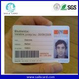 Cartão da foto da identificação do membro da lealdade