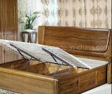 Festes hölzernes Bett-moderne doppelte Betten (M-X2354)