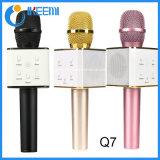 Microphone sans fil de microphone Q7 de nouveau design 2016