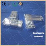 Tubo de descarga del laser del tubo del electrodo de la cavidad del laser de cristal de cuarzo