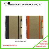 Preiswertes Custom Promotional Recycled Notebook mit Pen (EP-N1083)