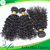 Extensão do cabelo humano do Virgin do cabelo do brasileiro da alta qualidade 100%