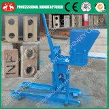 Pequeño manual desarrollado nuevo bloque de cemento que hace la máquina