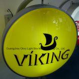 Signage de gravação do diodo emissor de luz da impressão da tela de seda do logotipo