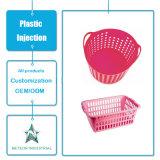 China Manufacturer Customized Plastic Injection Household Kitchenware Molde de cesta de plástico