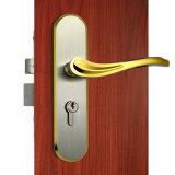 Fechamento de porta do Mortise com o punho de alavanca no revestimento de PVD