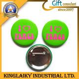 L'étain de souvenirs d'un insigne avec logo pour cadeau promotionnel (KBG-001)