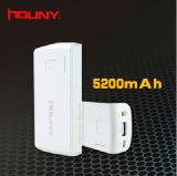 ポータブル 5200mAh パワーバンク / モバイルパワーバンク充電器電源