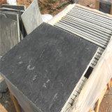 Natürlicher schwarzer Schiefer-Stein für Außenwand-Dekoration