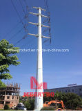 110kv Heavy Angle Transmission Tension Palo in Asia Sud-Orientale