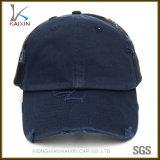 Kundenspezifisches normales Fernlastfahrer-Hut-Schutzkappe des Leerzeichen-6 Panel beunruhigte