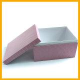 Het Vakje van de Gift van het Document van de Kleur van de douane, Kosmetisch Vakje, het Vakje van de Schoen