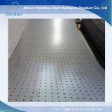 Feuille ronde en aluminium pour tubes