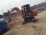 La Chine et bonne excavatrice utilisée de Doosan 60-7