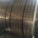 piatto dell'impronta dell'alluminio 5052 5005 5754 in un reticolo di 5 barre