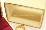 Trendy Verpakkende Vakje van de Vertoning van de Ring van de Koker van het Document Dubbele