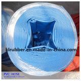 Heavy Duty agricultura de riego de PVC Layflat agua de descarga de la manguera