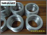 Pièces de précision en aluminium d'acier inoxydable de constructeur de commande numérique par ordinateur de Shenzhen