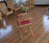 Diretor de madeira de dobramento Cadeira do Teak para a plataforma marinha