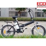Bicicleta de dobramento do baixo custo com a bicicleta Foldable elétrica da bateria de lítio