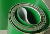 Correia transportadora do plutônio da correia transportadora do PVC para a indústria clara do dever