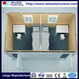 40FT móvil prefabricada ampliable de contenedores casa con paneles solares