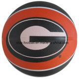 Tamaño 7 Dos de Color de baloncesto con la vejiga de butilo